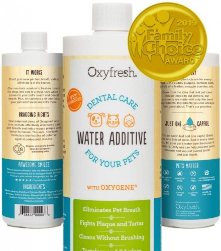 Oxyfresh Water Additive for Dental Disinfection