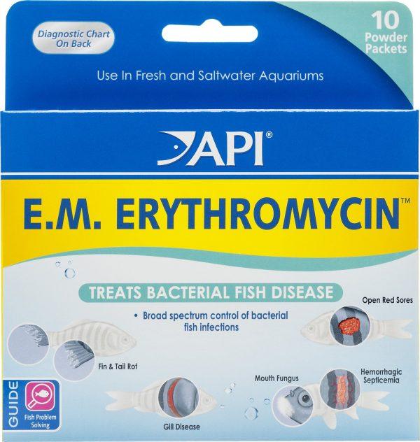 What's in API's EM Erythromycin