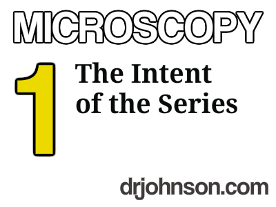 1 MICROSCOPY – Tutorial