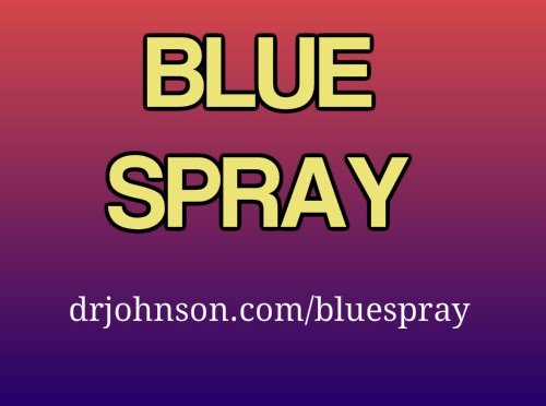 Blue Spray Chlorhexidine For Atopy